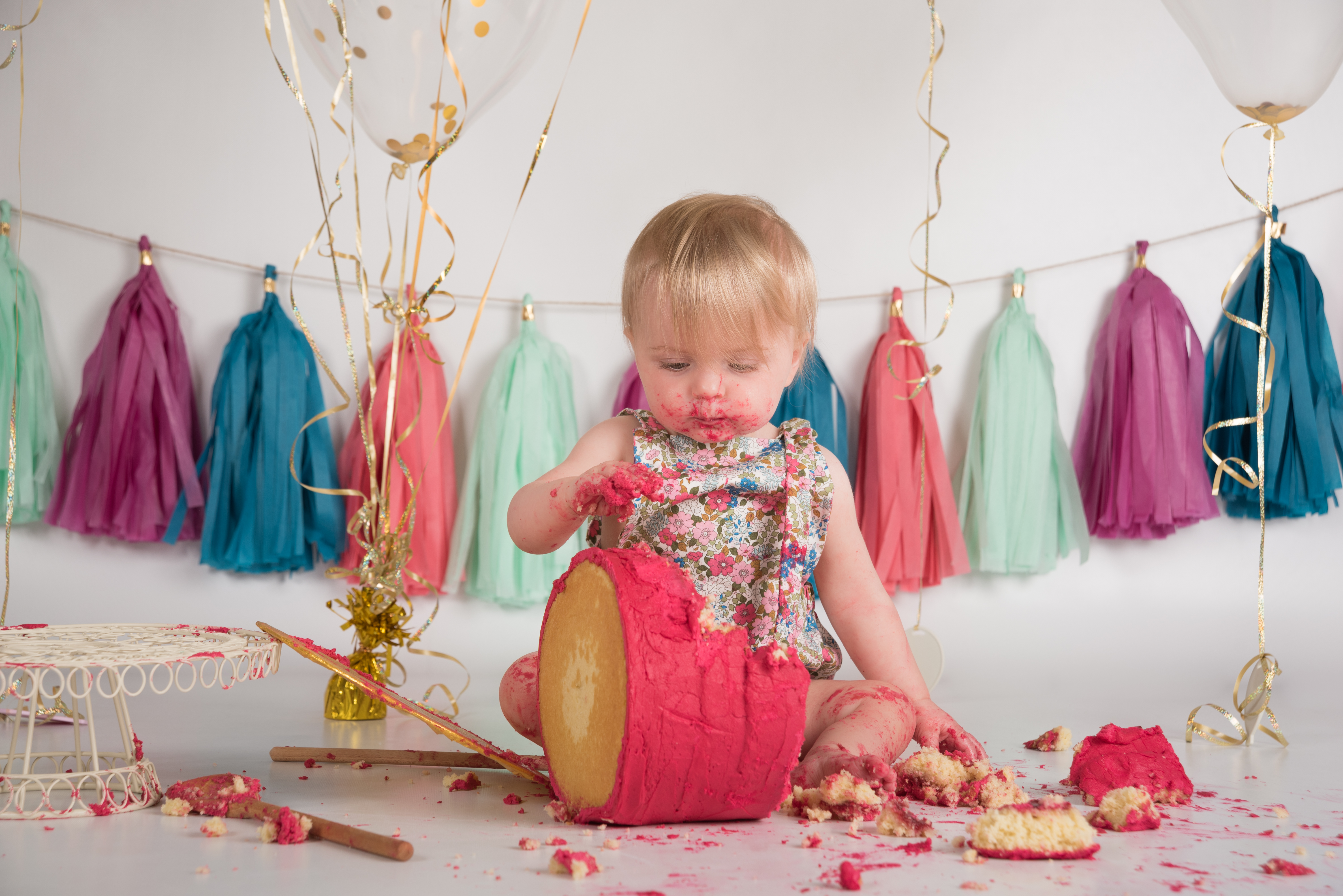 My most popular photo sessions involves cake!