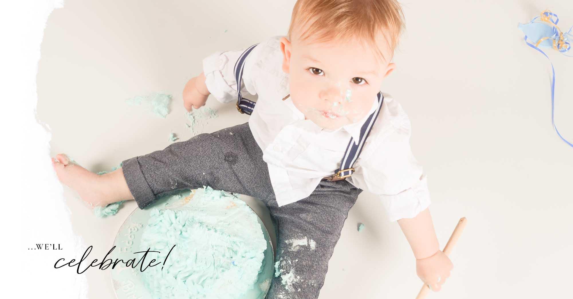 Cake Smash Photogrpaher Grimsby
